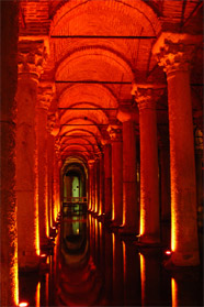 Information on Underground Cistern, Istanbul - Istanbul travel information guide
