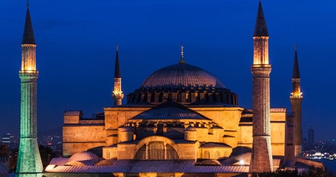 Information on Hagia Sophia, Istanbul - Istanbul travel information guide