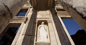 ephesus celsus library statue