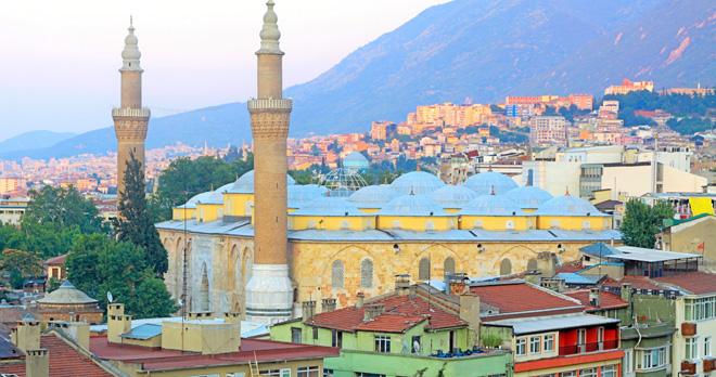bursa ulucamii grand mosque