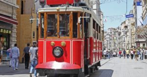 taksim beyoglu tram
